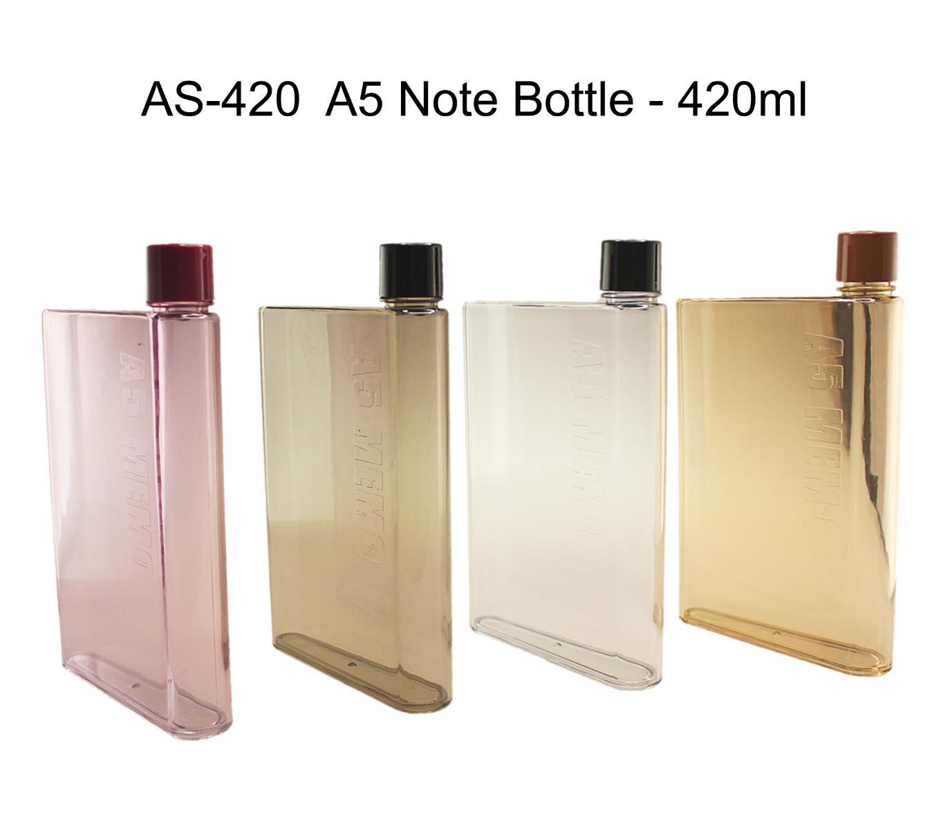 PSAS420 A5 Memo bottle. as-420_a5_note_bottle_420ml · as-420_a5_note_bottle_420ml